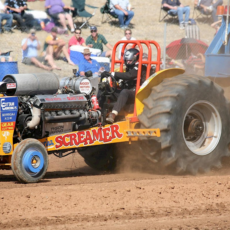 Finley Community Tractor Pull image